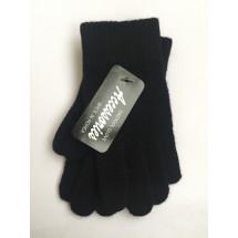 Перчатки зимние черного цвета Дэни