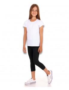 Комплект для девочек спортивный для физкультуры (бриджи + футболка)